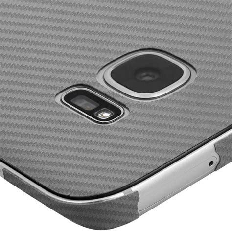Carbon Fiber Samsung S7 Edge by Skinomi Techskin Samsung Galaxy S7 Edge Silver Carbon