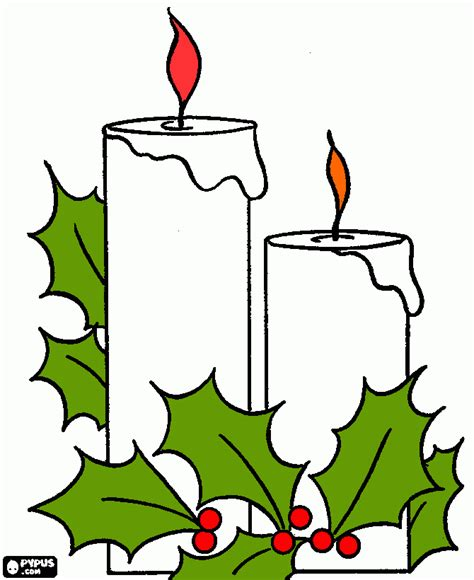 imagenes de velas navideñas para dibujar maestra de infantil coronas y velas de navidad para colorear