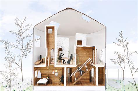 Troline Bulat 6 62 solusi ruang dalam ruang rumah bulat