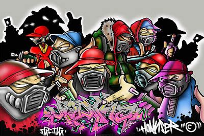 wallpaper animasi grafiti gambar grafiti rezpector keren jalan baron
