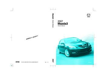 car repair manual download 2007 mazda mazda3 on board diagnostic system download 2007 mazda 3 owner s manual pdf 459 pages