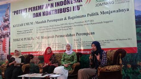 Potret Inspiratif Perempuan Tionghoa Indonesia gelar ilmiah potret perempuan indonesia dan kontribusi nu