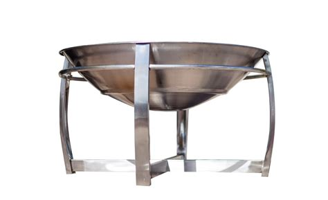 stainless steel firepit stainless steel pit bowl chimenea garden