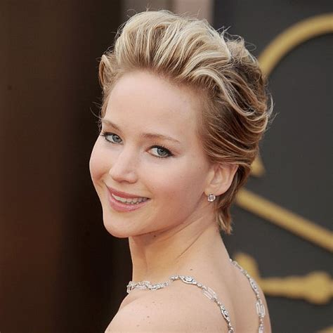 jennifer lawrence short hair styles   Hairstyles Blog
