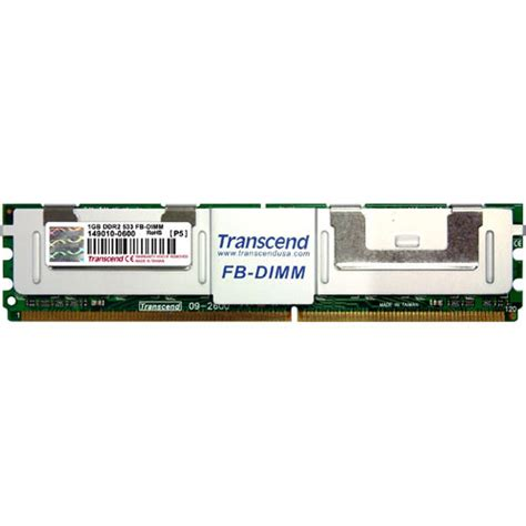 fb dimms transcend 1gb fb dimm memory for desktop ts128mfb72v5j t b h