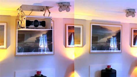 proiettore soffitto tv moving mpd staffa motorizzata per videoproiettore a