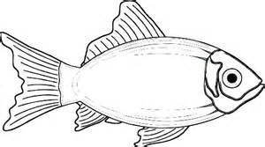 fish clipart black and white clipart download