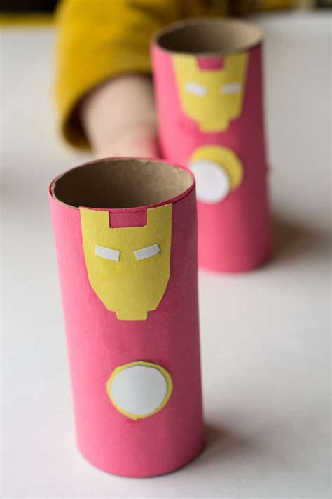 How To Make Sticks With Toilet Paper Rolls - iron toilet paper roll craft glue sticks and gumdrops