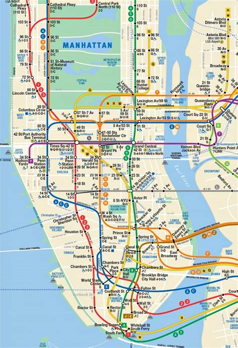 subway map mta flaunts future subway map with second avenue line 6sqft