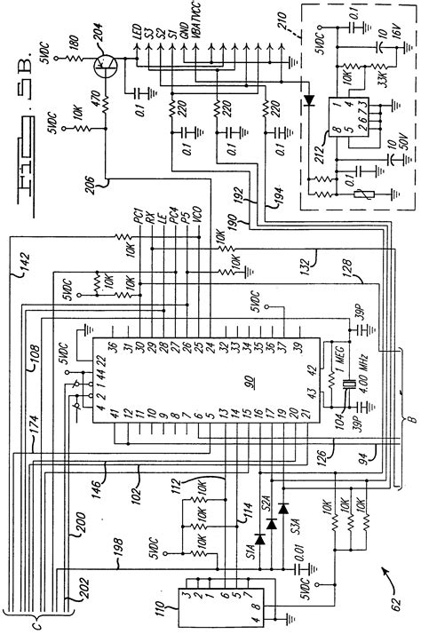 garage door opener circuit diagram garage door opener schematic circuit radio controlled 3way light switch for use with a garage