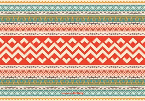 aztec pattern vector colorful aztec style pattern vector background download