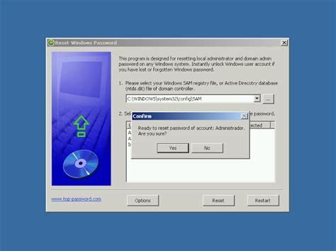 reset vista password software free reset windows password v1 70