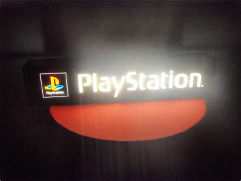 playstation light up sign things you can t