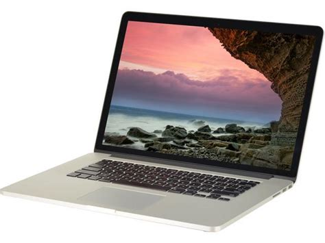 Laptop Apple A1398 Refurbished Apple Laptop Macbook Pro A1398 Intel I7 3615qm 2 30 Ghz 16 Gb Memory 256 Gb