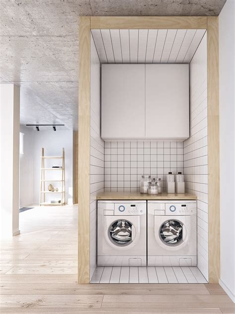 20 Ultra Modern Laundry Rooms That Fit Into The Most Small Laundry