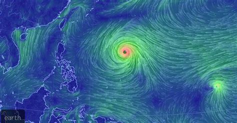 massive typhoon  developing   pacific  aim