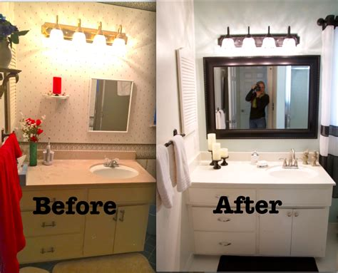 Easy Bathroom Remodel Ideas by Leaving The Ivory Tower Budget Bathroom Remodel