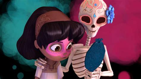 cgi 3d animated short dia de los muertos by whoo short film about a little girl celebrating dia de muertos