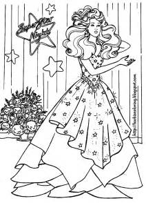 barbie coloring pages barbie bride barbie superstar