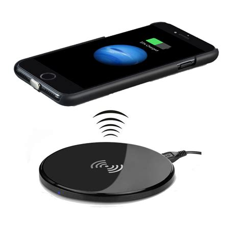 qi wireless charging charger  iphone  plusincluding qi charger receiver coverqi wireless