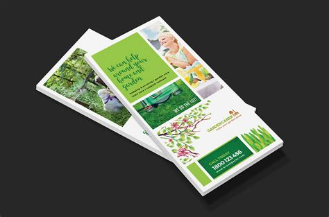 dl card template gardener dl card template for photoshop illustrator brandpacks