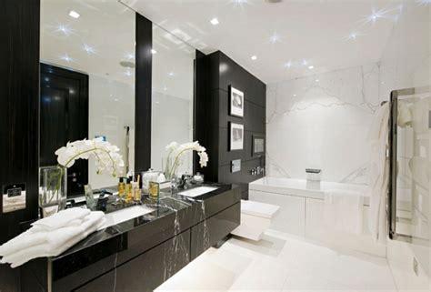 Badezimmer Modern Schwarz Weiß by Modernes Badezimmer In Schwarz Wei 195 194 Pictures To Pin On