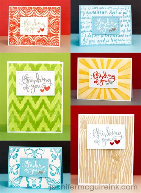 by jennifer mcguire ink inking embossing folders video by jennifer mcguire ink
