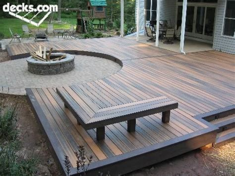 deck firepit 1000 images about the great outdoors on
