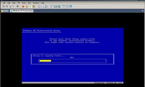 menginstal windows xp menggunakan vmware virtual manchine