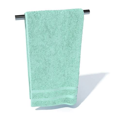 where to put hand towel in bathroom bathroom hand towel 3d model cgtrader com