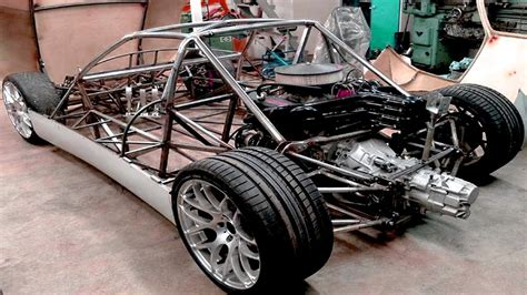 car made with engine roxgt v8 car project build