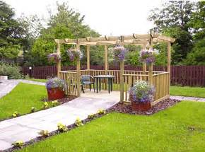 Pergola And Decking Kits by Wooden Pergola Kits