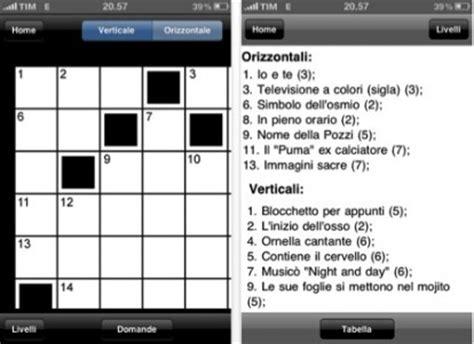 cruciverba parole crociate notizie in liquida cruciverba le parole crociate in italiano su iphone