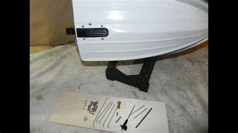 jet boat kit usa rc jet boat usa made flex shaft kit install part 2 of 5
