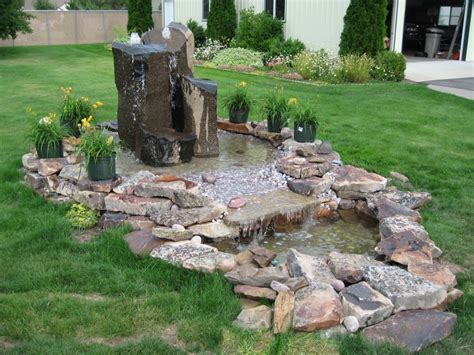 how to install a large water feature bedrocksite s blog