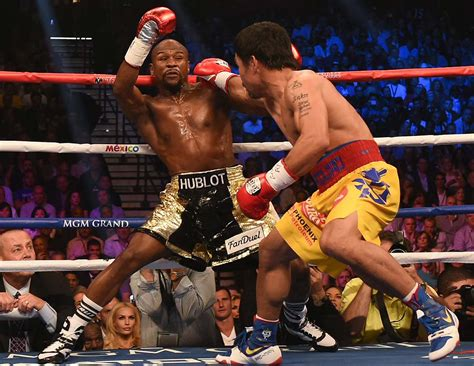 Fan Belt Beat mayweather beats pacquiao but loses in eye of si