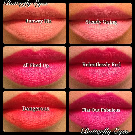 Lipstick Mac Retro Matte new mac retro matte collection lipsticks