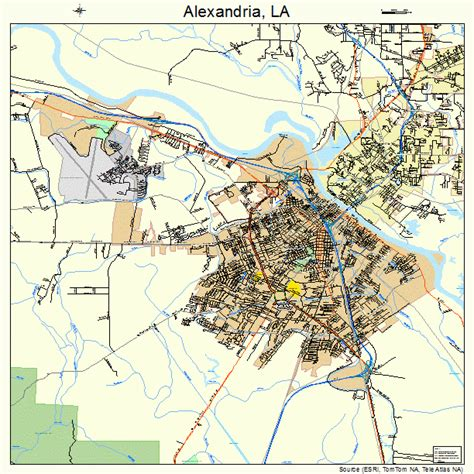 louisiana map alexandria alexandria la pictures posters news and on your