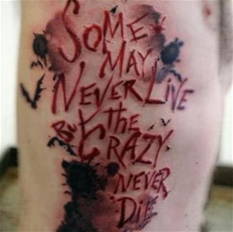 joker tattoo ideas 10 quote tattoos for images and pictures