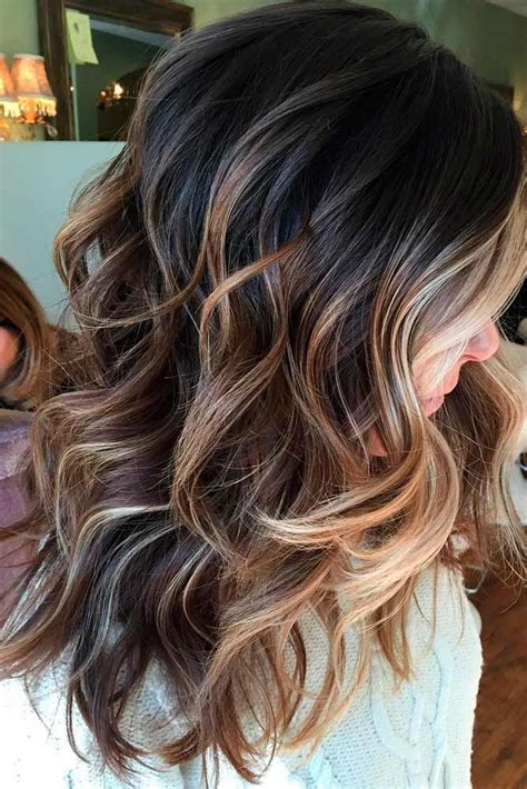 hairstyles with color 55 highlighted hair for brunettes hair balayage hair
