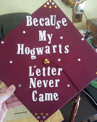 Offer Letter Never Came 21 Magical Diy Harry Potter Graduation Caps All