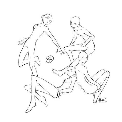 Drawing References Poses by トレス可 環状構図集 暮宙シュン Http Www Pixiv Net Member Illust Php