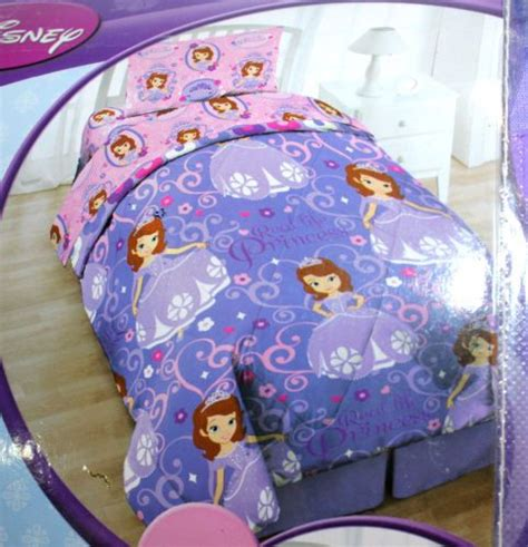 sofia the first twin bedding disney sofia the first twin 5 pc bed sheet set w reversible comforte