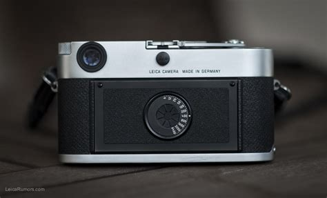 Sweety Silver M60 Limited leica is rumored to announce a limited edition m60 digital rangefinder without lcd screen