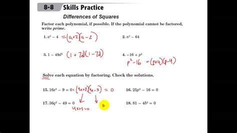 Solving Quadratic Equations Worksheet With Answers by Solving Quadratics By Graphing Worksheet 1 Answers
