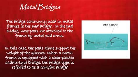 comfort bridge glasses frames