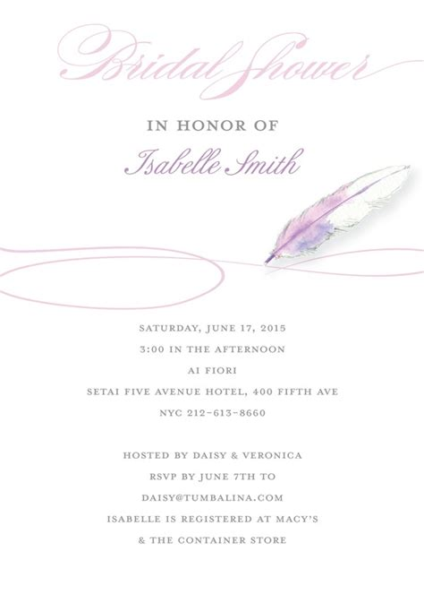 kleinfeld bridal shower invitations 14 best jess and s wedding shower images on