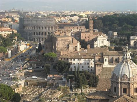 terrazza delle quadrighe roma dal cielo terrazza delle quadrighe roma