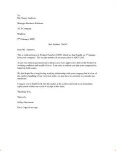 Business Letter Format Complaint free sample business complaint letters cover letter templates