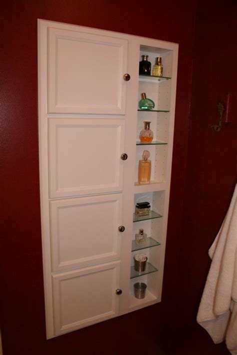 recessed wall storage wall storage